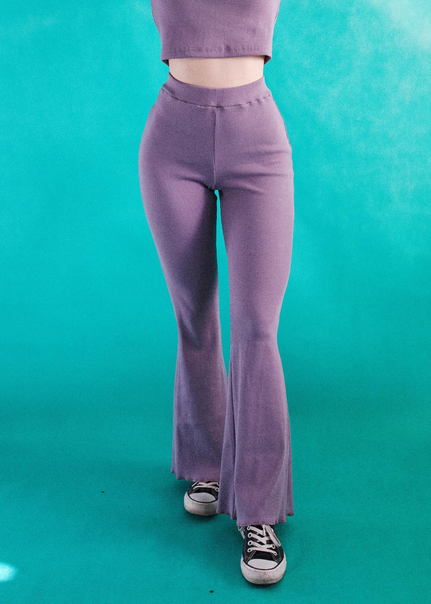 Dzwony HIPPIE Lavender - noszesztuke | JestemSlow.pl