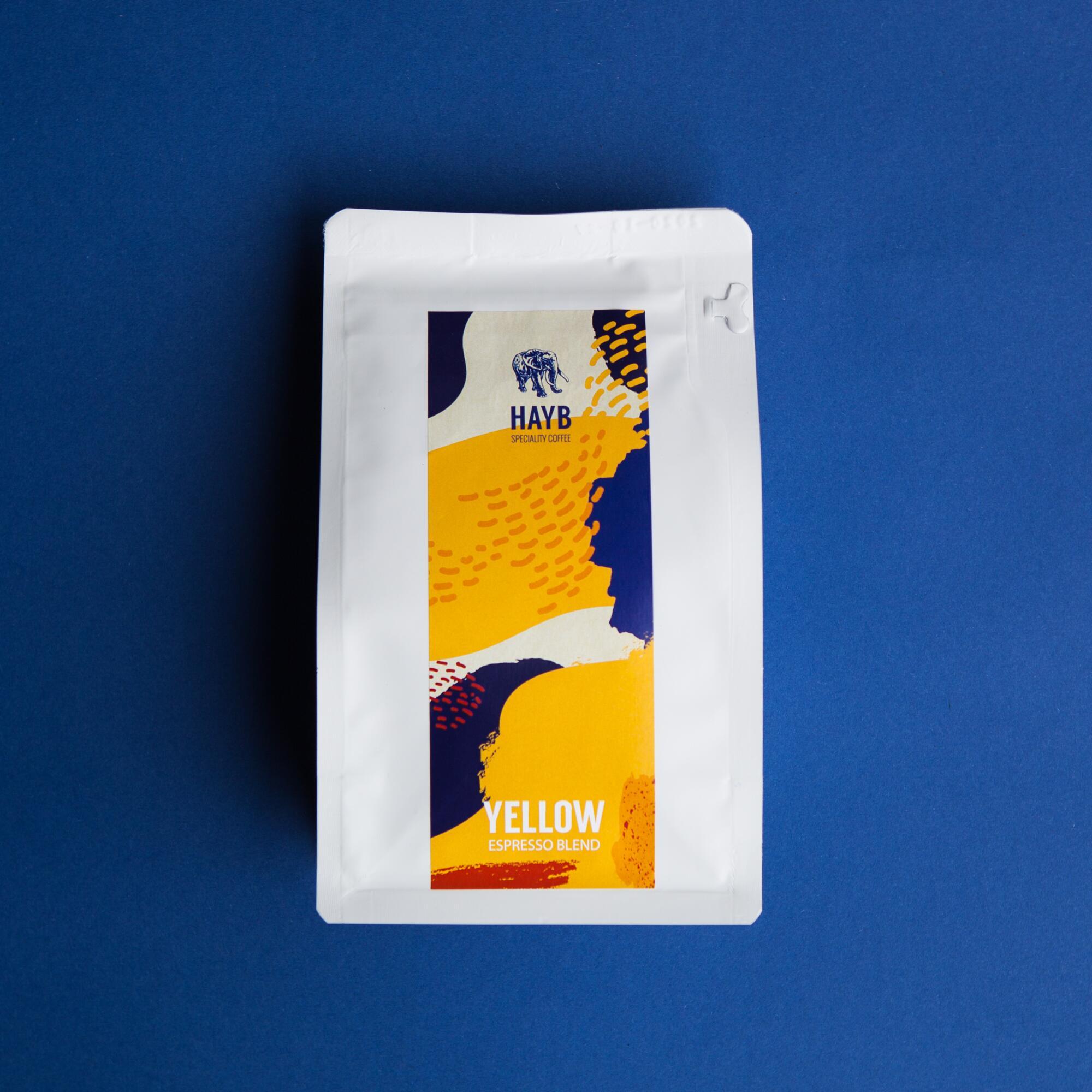 HAYB Yellow Espresso Blend 250g - Coffee Gang | JestemSlow.pl