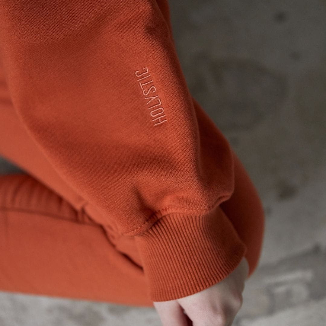 Bawełniana bluza dresowa krótka GINGER - Holystic | JestemSlow.pl