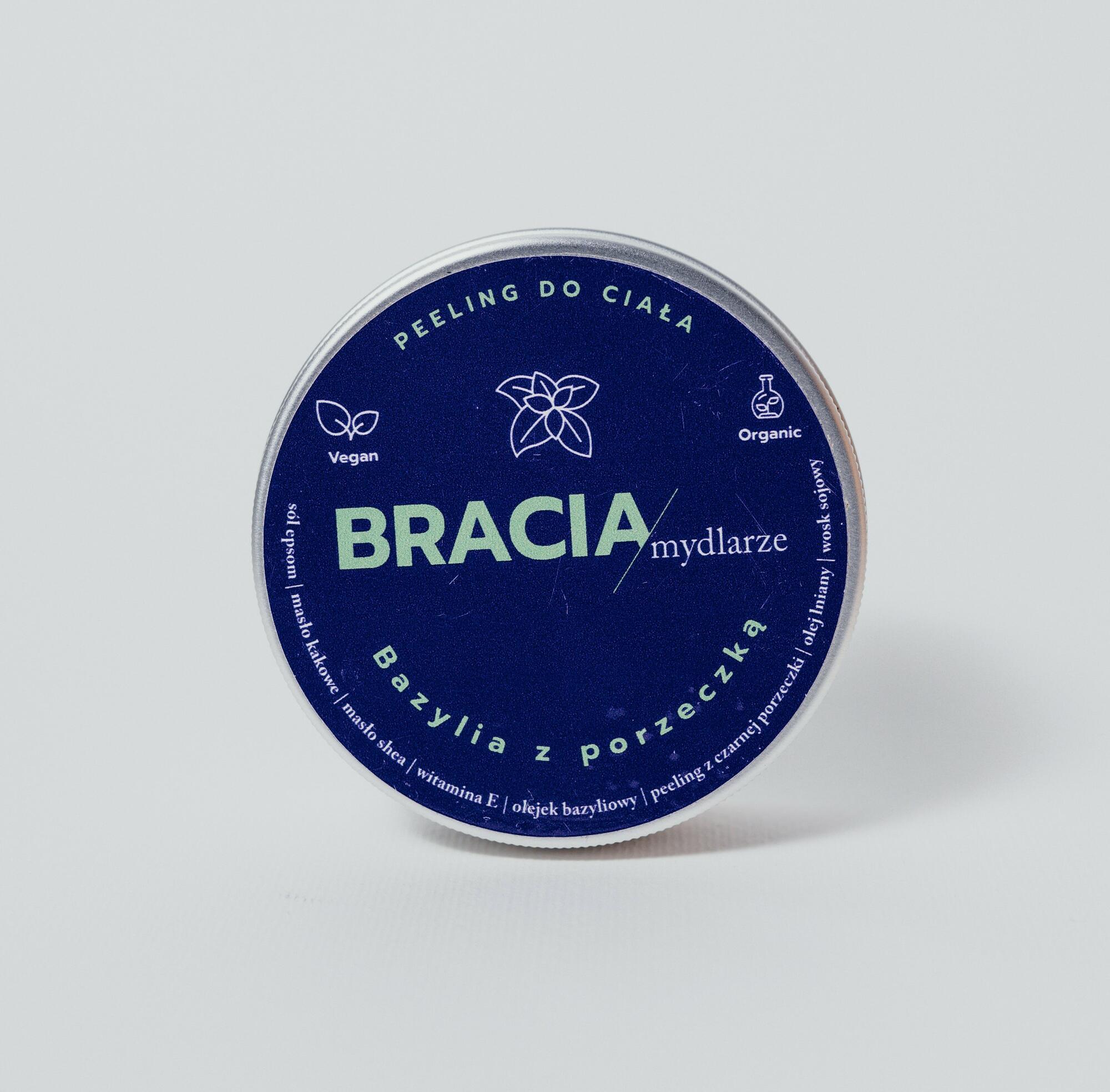 Bazylia z porzeczką | peeling - Bracia Mydlarze | JestemSlow.pl