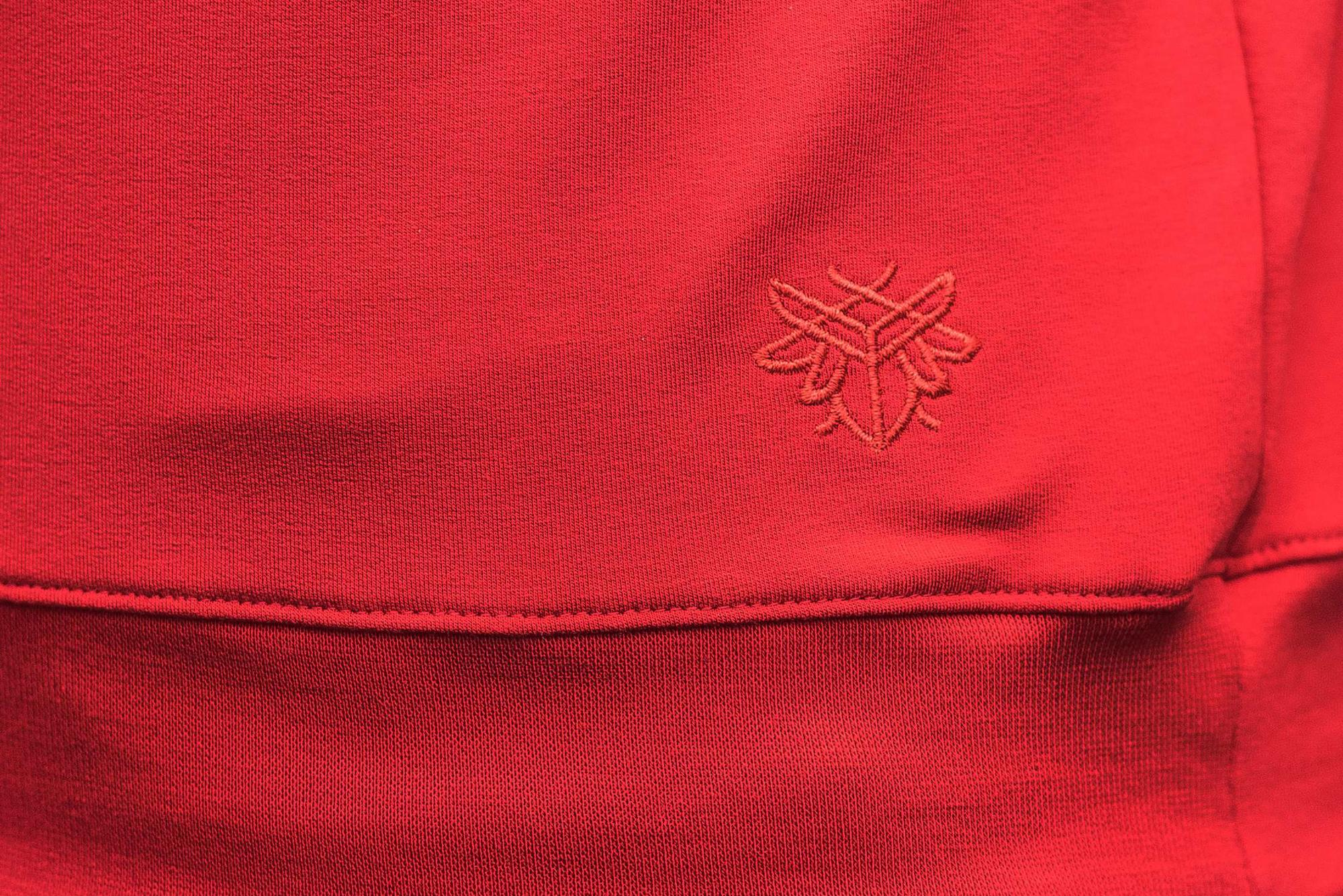 BAMBUSOWA BLUZA DAMSKA MAŁY SKARABEUSZ RED - Lucky Thing