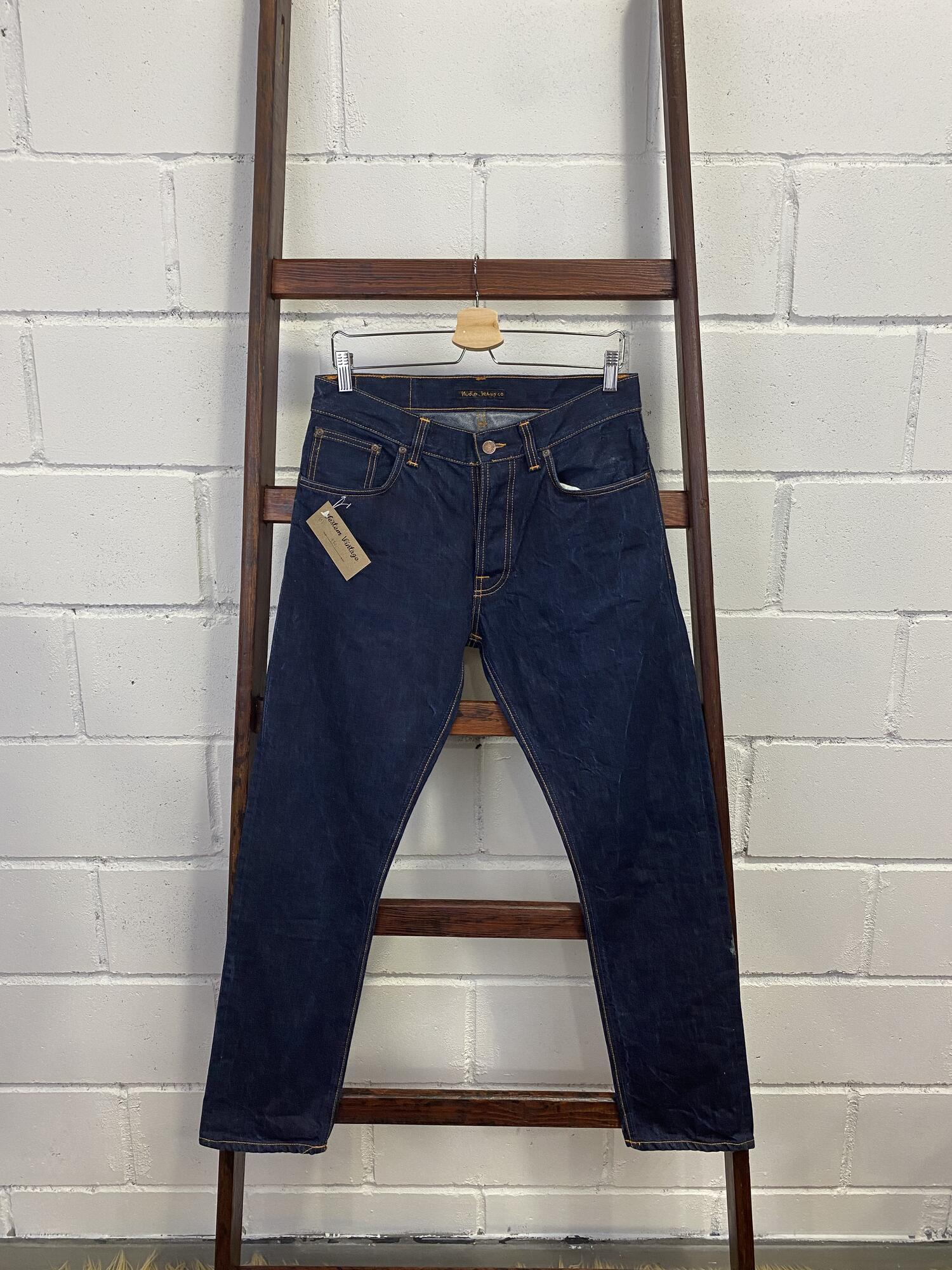 Męskie jeansy NUDIE JEANS - Vintage Store   JestemSlow.pl
