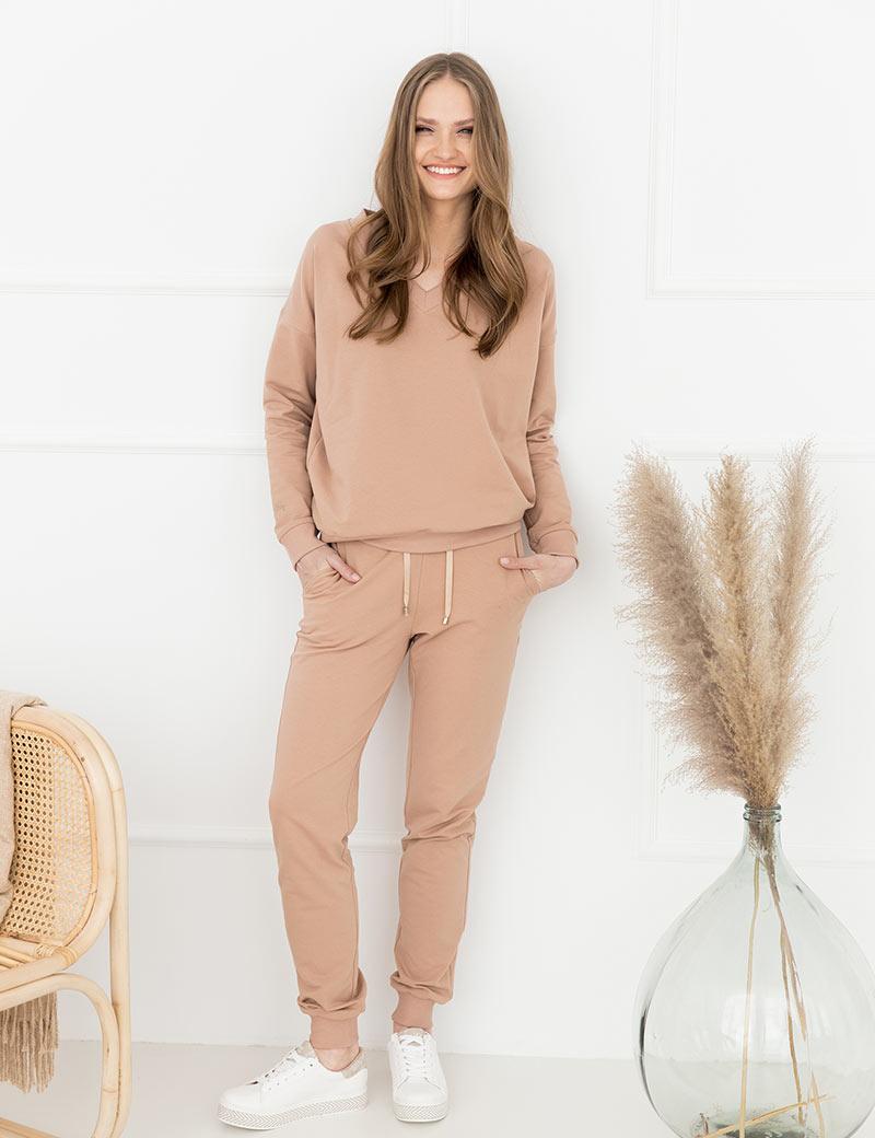 Spodnie Kelly Beige - Loli-Pop | JestemSlow.pl