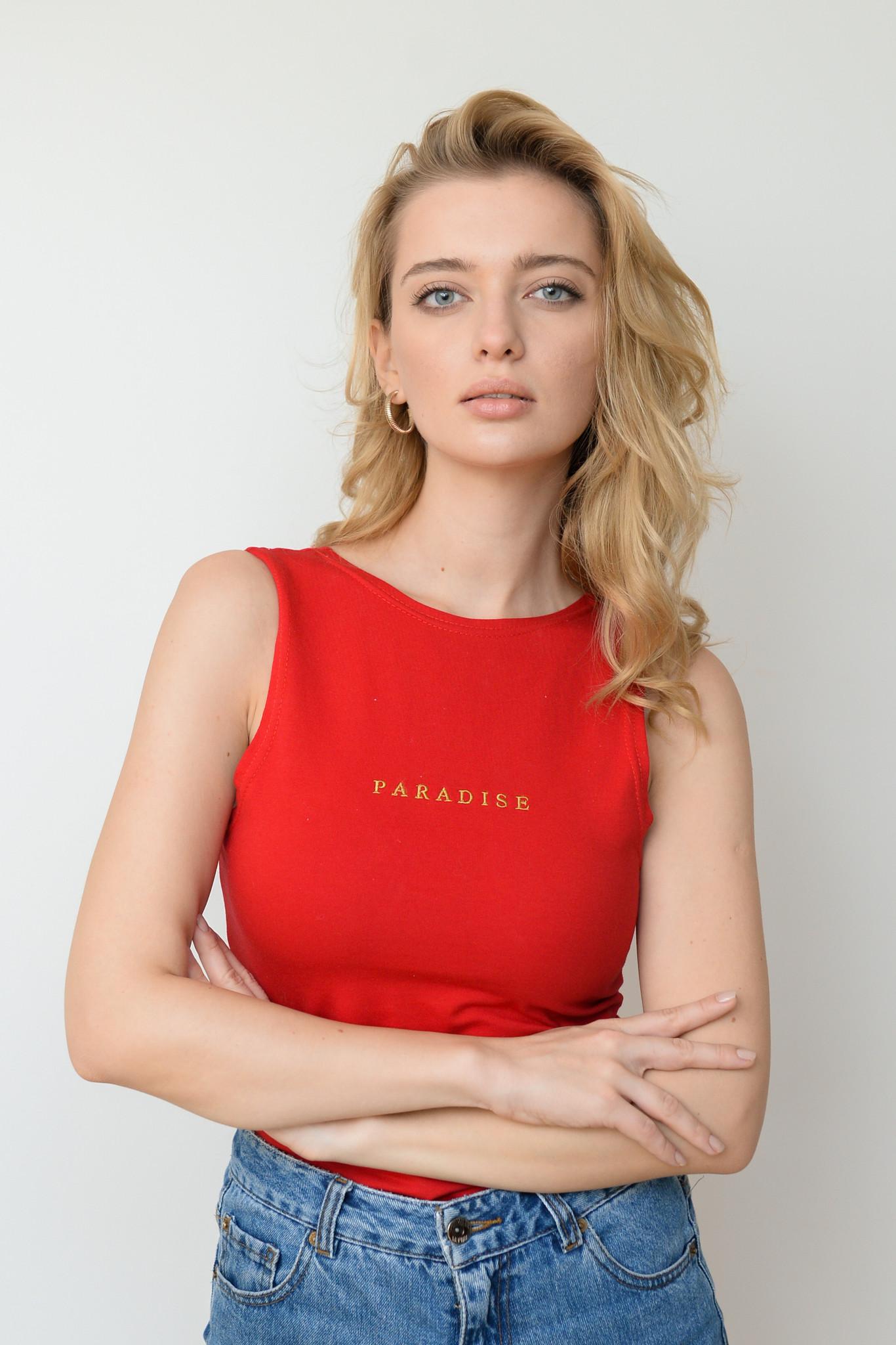 Czerwone body bielizna Paradise Body - whysoserious