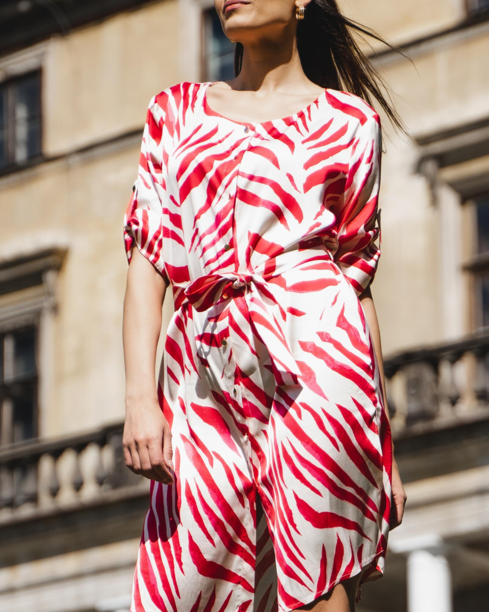 Sukienka koszulowa Pili-Pili - SYLVIA DARA SYLWIA DYDA | JestemSlow.pl