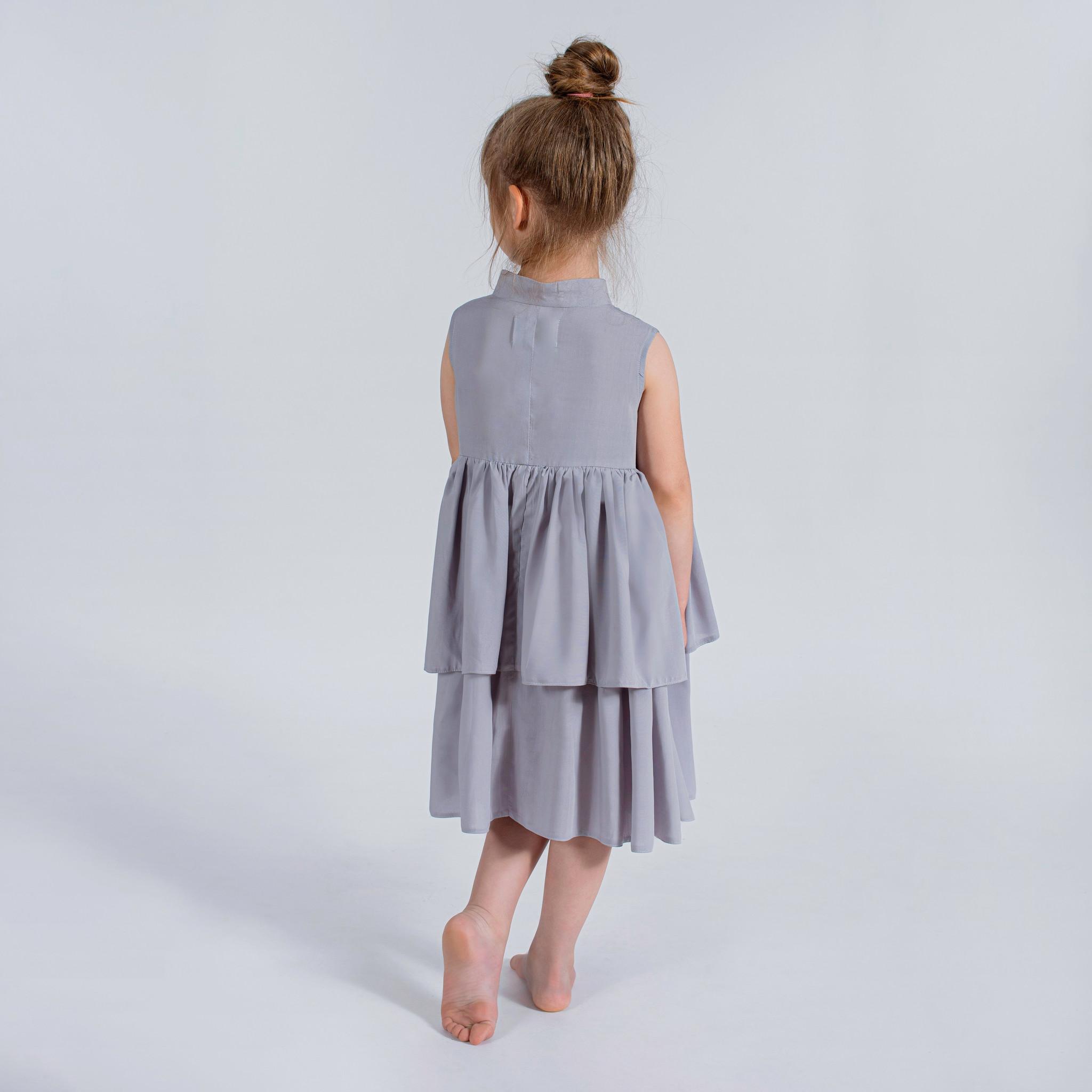 Sukienka srebrzysta - Domino.little.dress | JestemSlow.pl