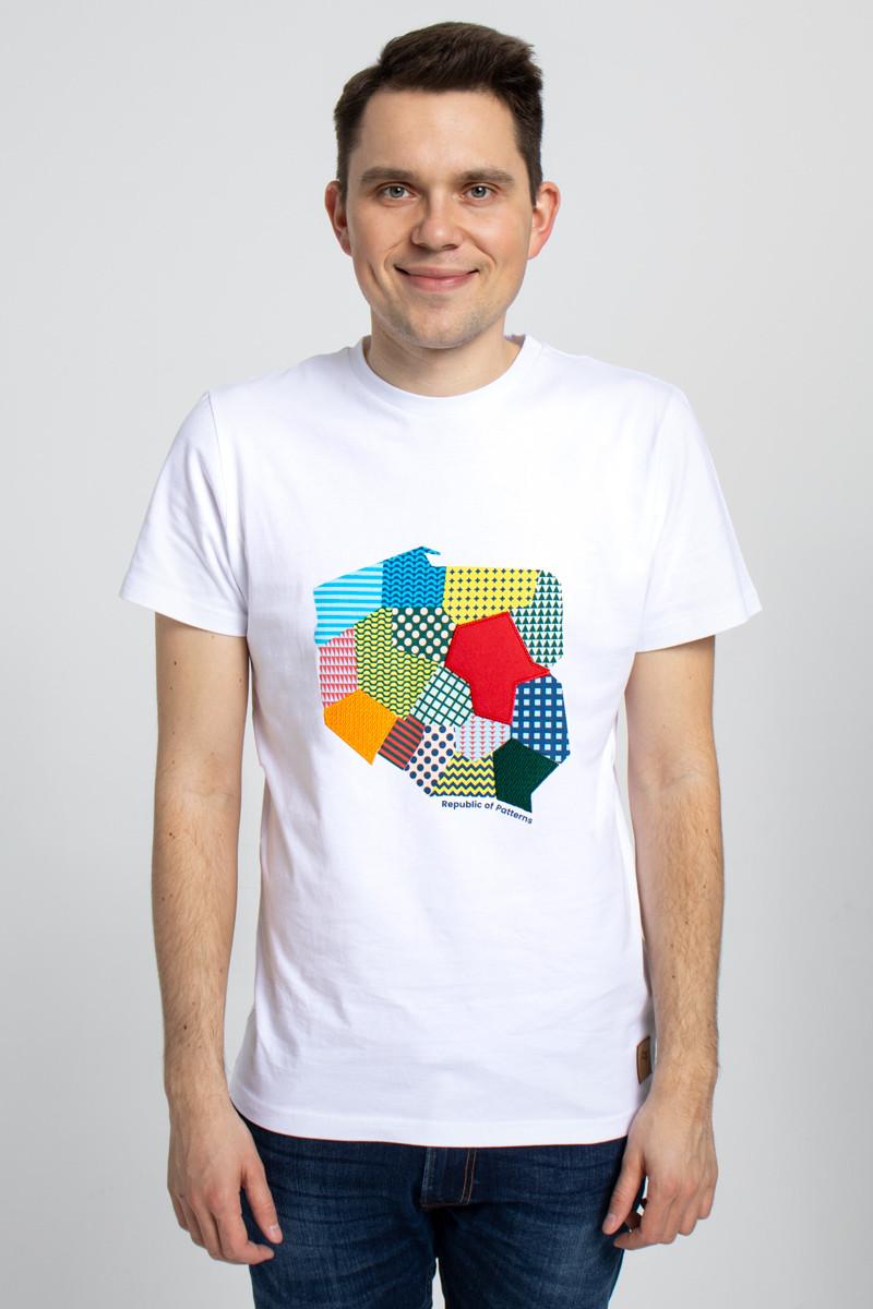 T-SHIRT HAFTOWANY MĘSKI POLSKA - Republic of Patterns