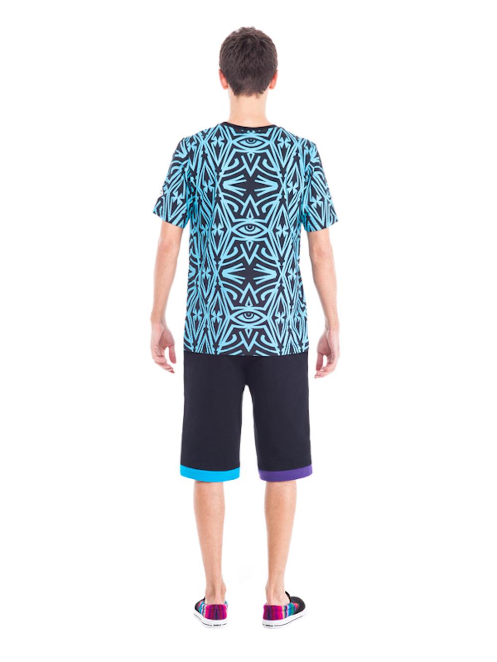 Carabus T-shirt (Navy Blue) - Okuaku