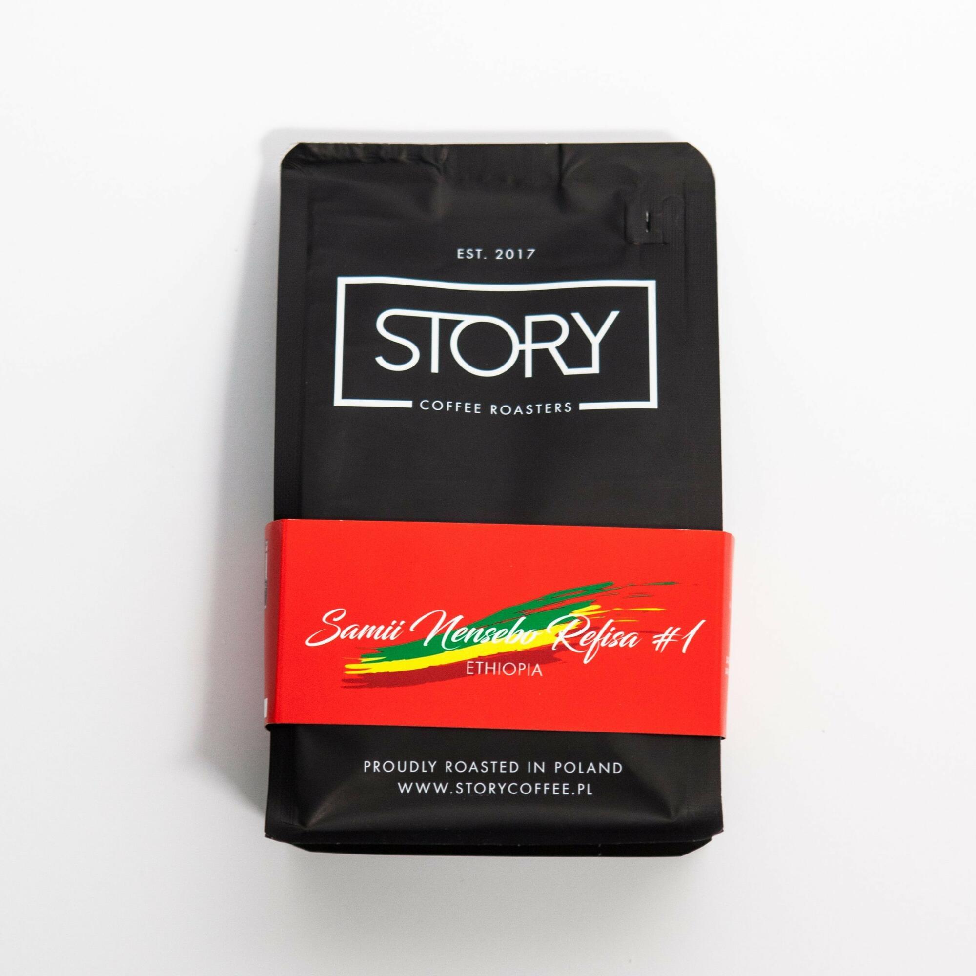 Story Ethiopia Samii Nensebo Refisa #3 250g - Coffee Gang | JestemSlow.pl