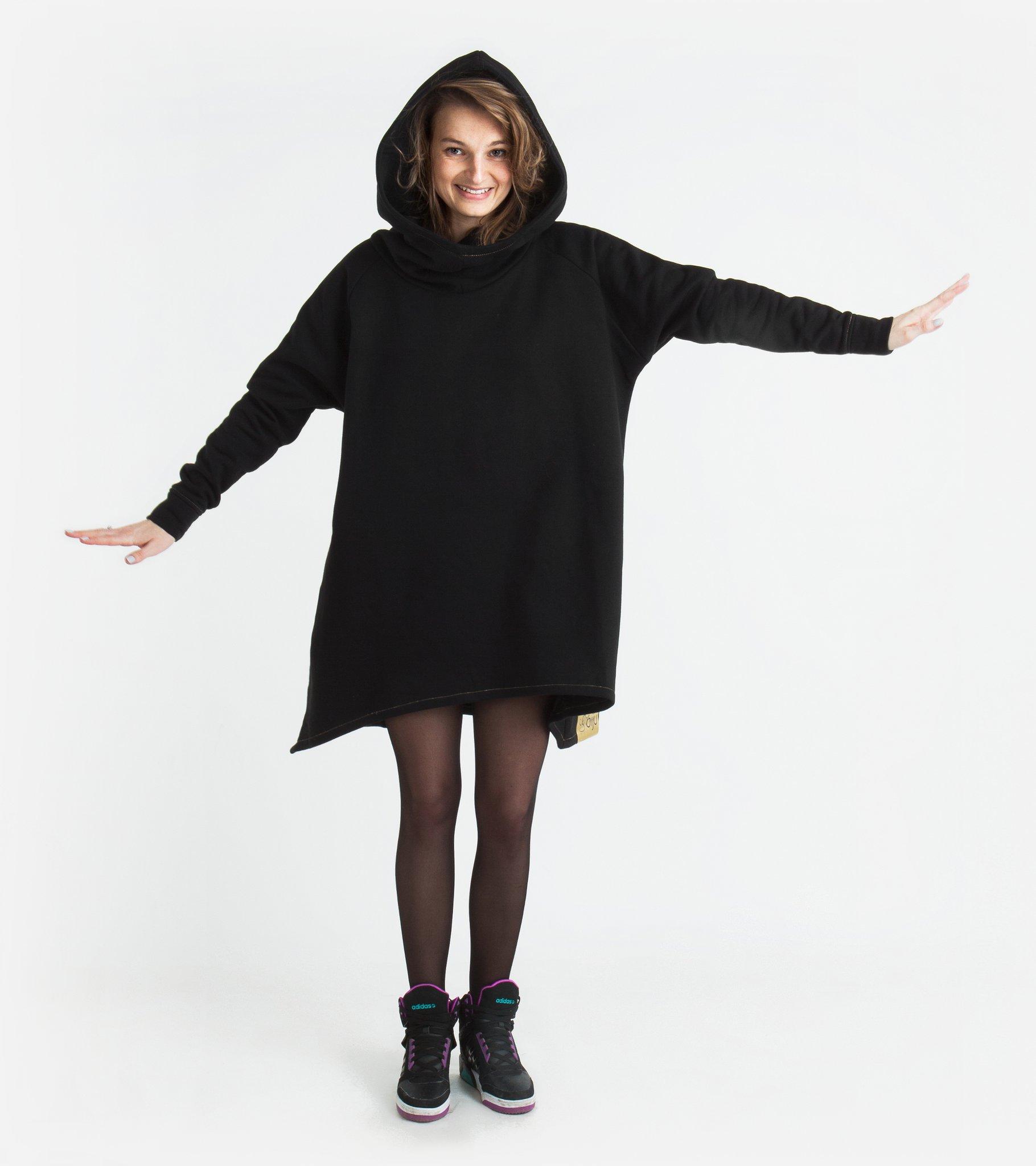 Czarna Bluza B01 - BIJU