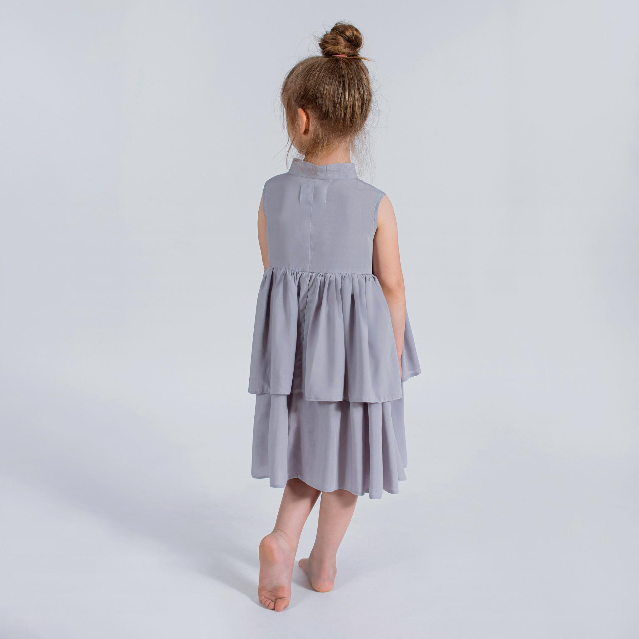 Sukienka srebrzysta - Domino.little.dress