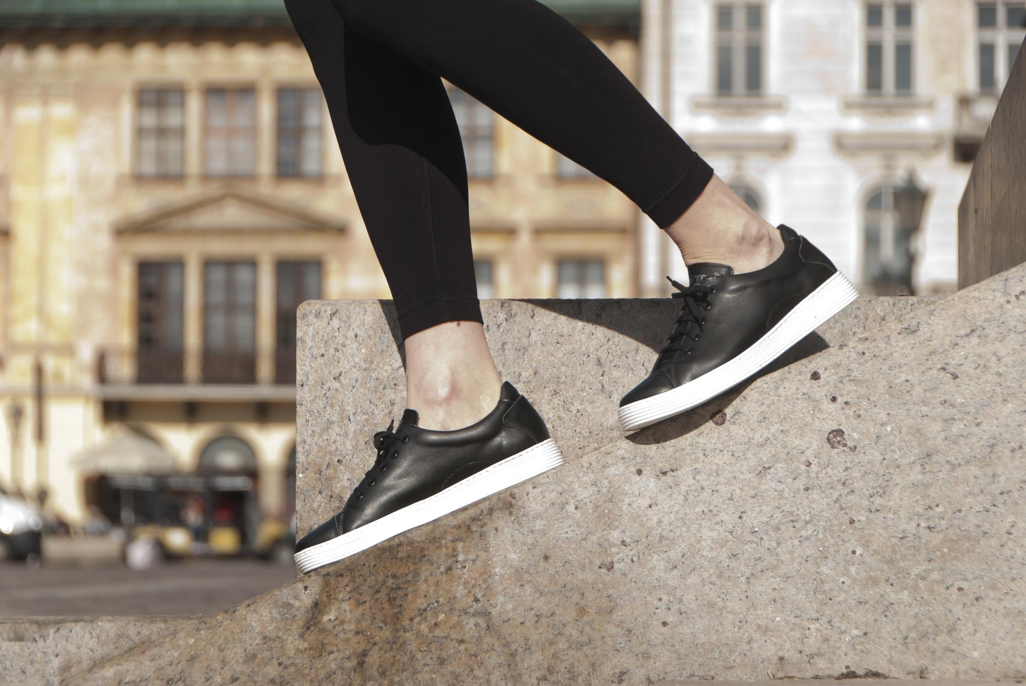 Sneakersy EDI czarne - Fairma Ethical Design | JestemSlow.pl