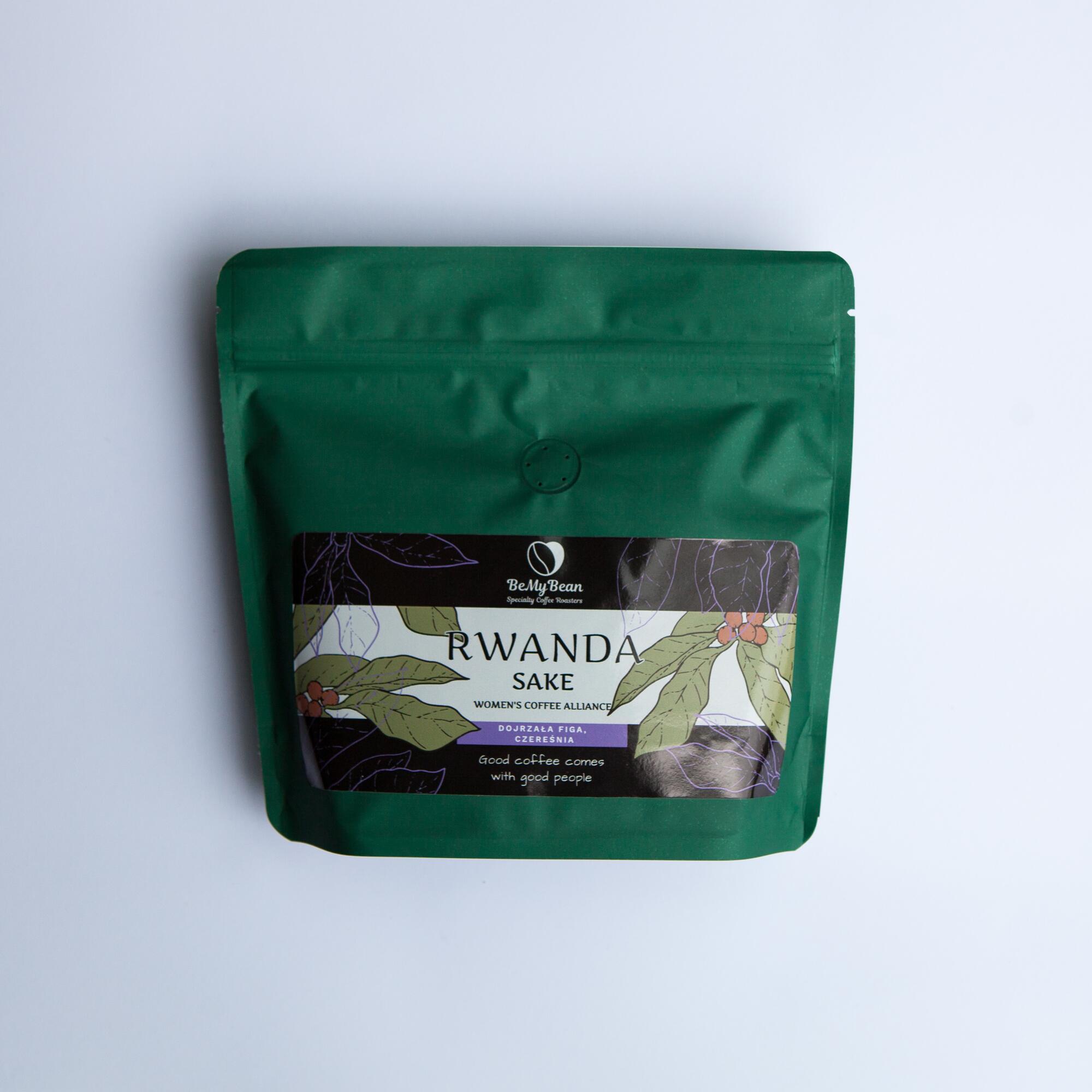 BeMy Bean Rwanda Sake 250g - Coffee Gang | JestemSlow.pl