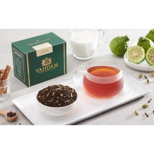 Earl Grey Spiced Chai Tea - Republika Smaków Sp. z o.o. | JestemSlow.pl