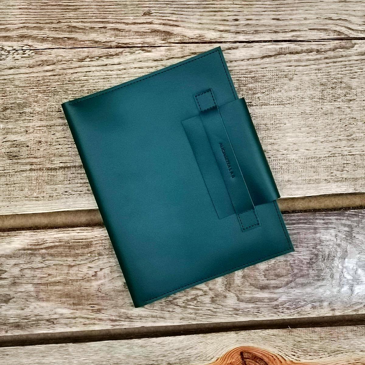 Plain Organizer Etui Dark Green - Alicja Getka lab