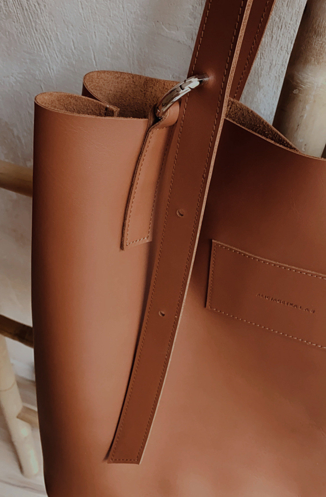 Torba Shopper Bag Cinnamon - Alicja Getka lab | JestemSlow.pl