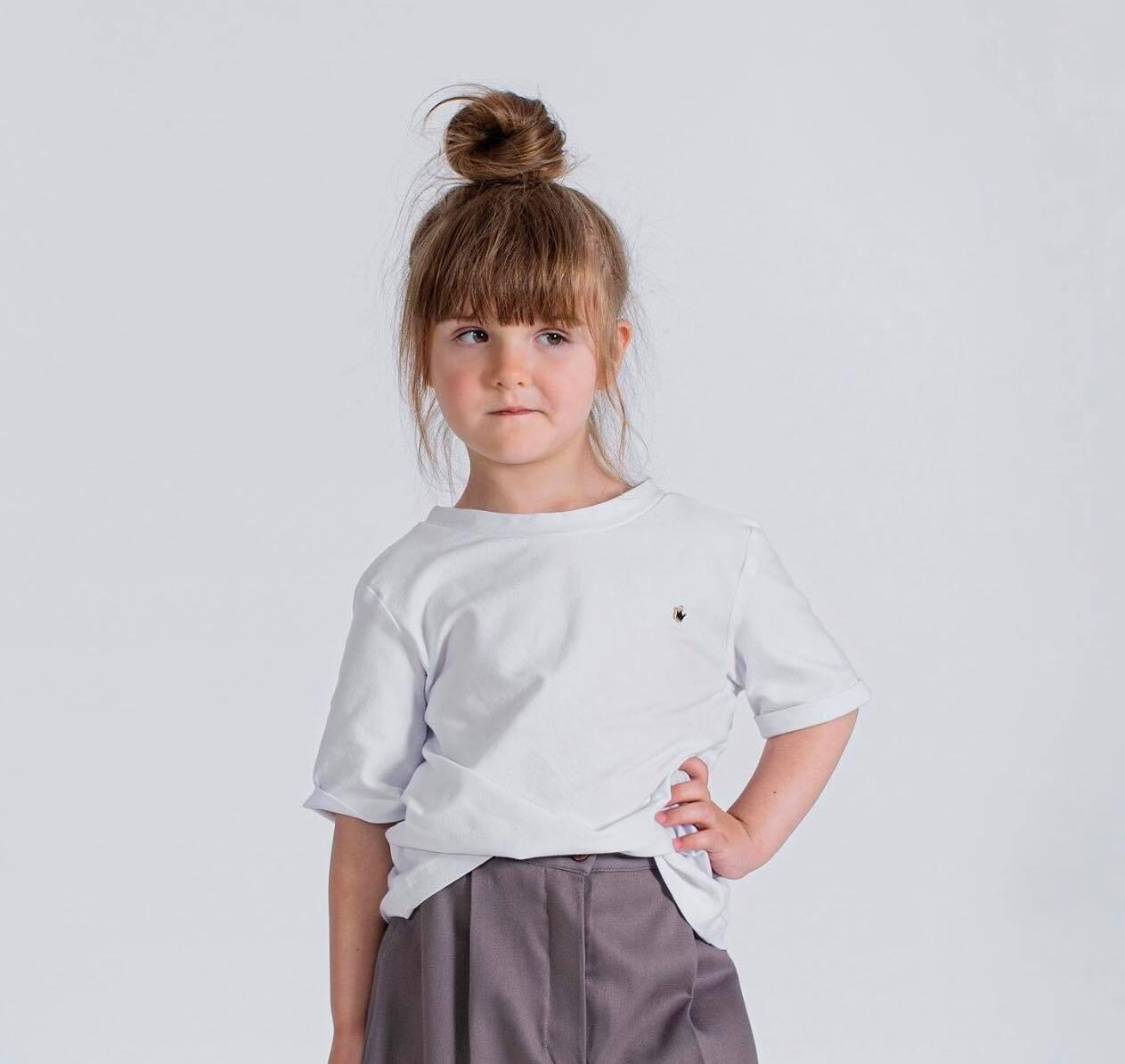 Biały t-shirt - Domino.little.dress