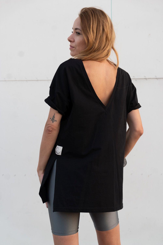 T-SHIRT OVERSIZE LUNAR BLACK - La Luna Wear | JestemSlow.pl