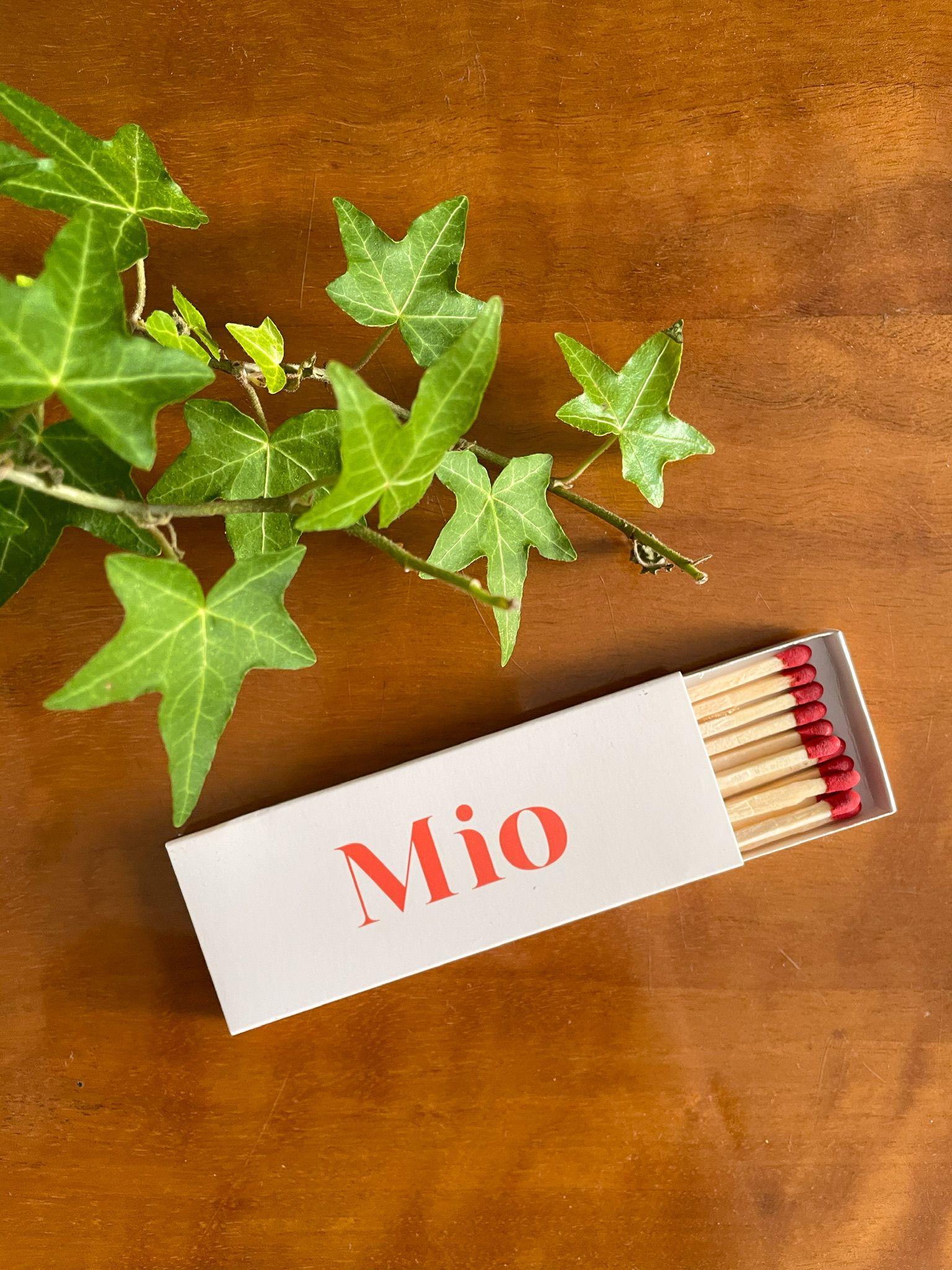 Zapałki MIO - Mio Candles   JestemSlow.pl