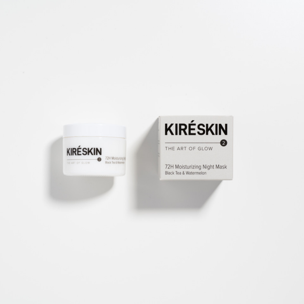72H moisturizing night mask Black Tea & Watermelon - Kiré Skin | JestemSlow.pl