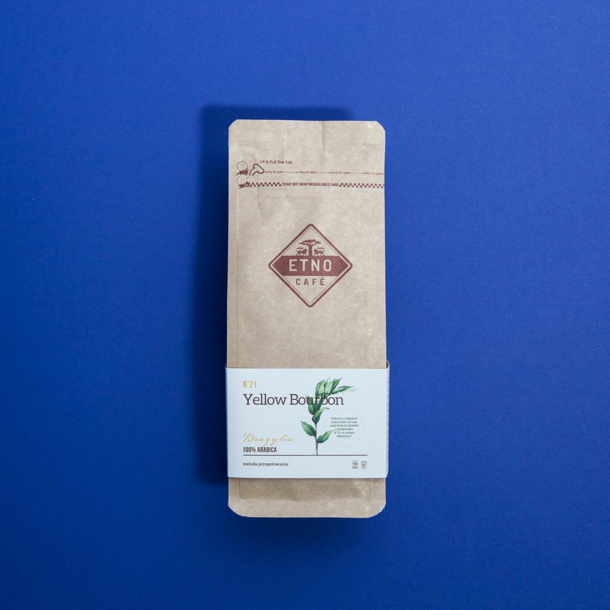 Etno cafe Yellow Bourbon 250g - Coffee Gang | JestemSlow.pl