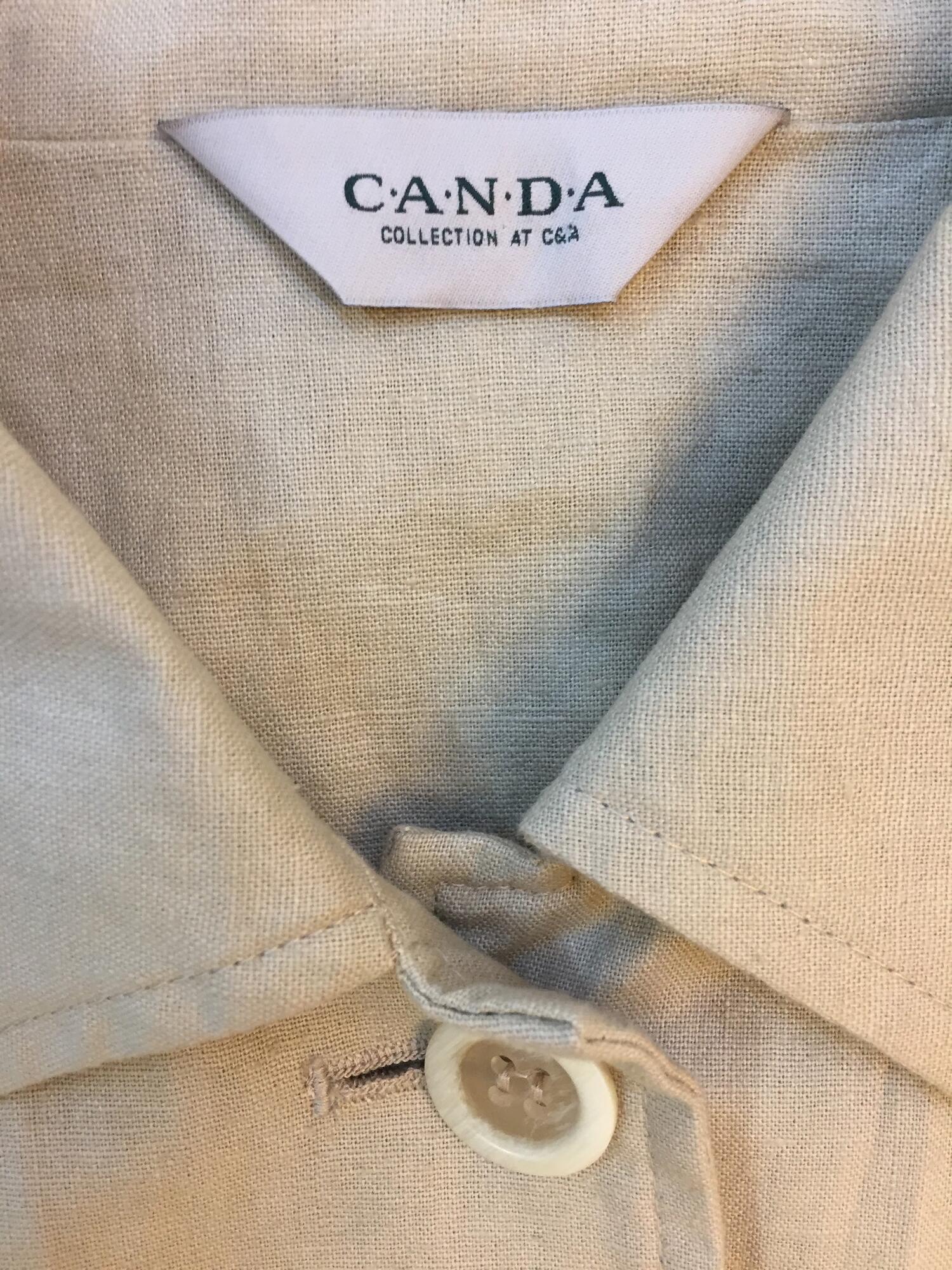 Marynarka safari CANDA lniana - Vintage Store | JestemSlow.pl