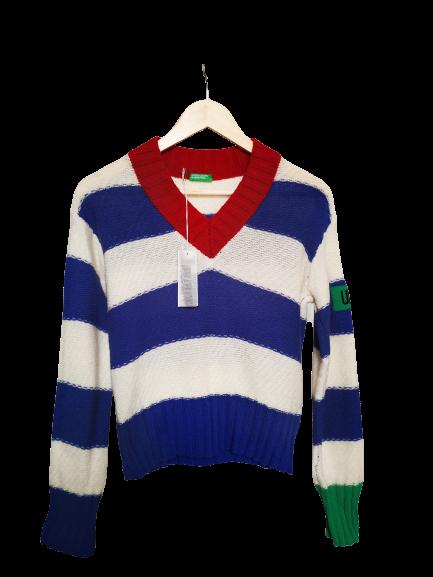 sweter w paski - Nie byle   JestemSlow.pl
