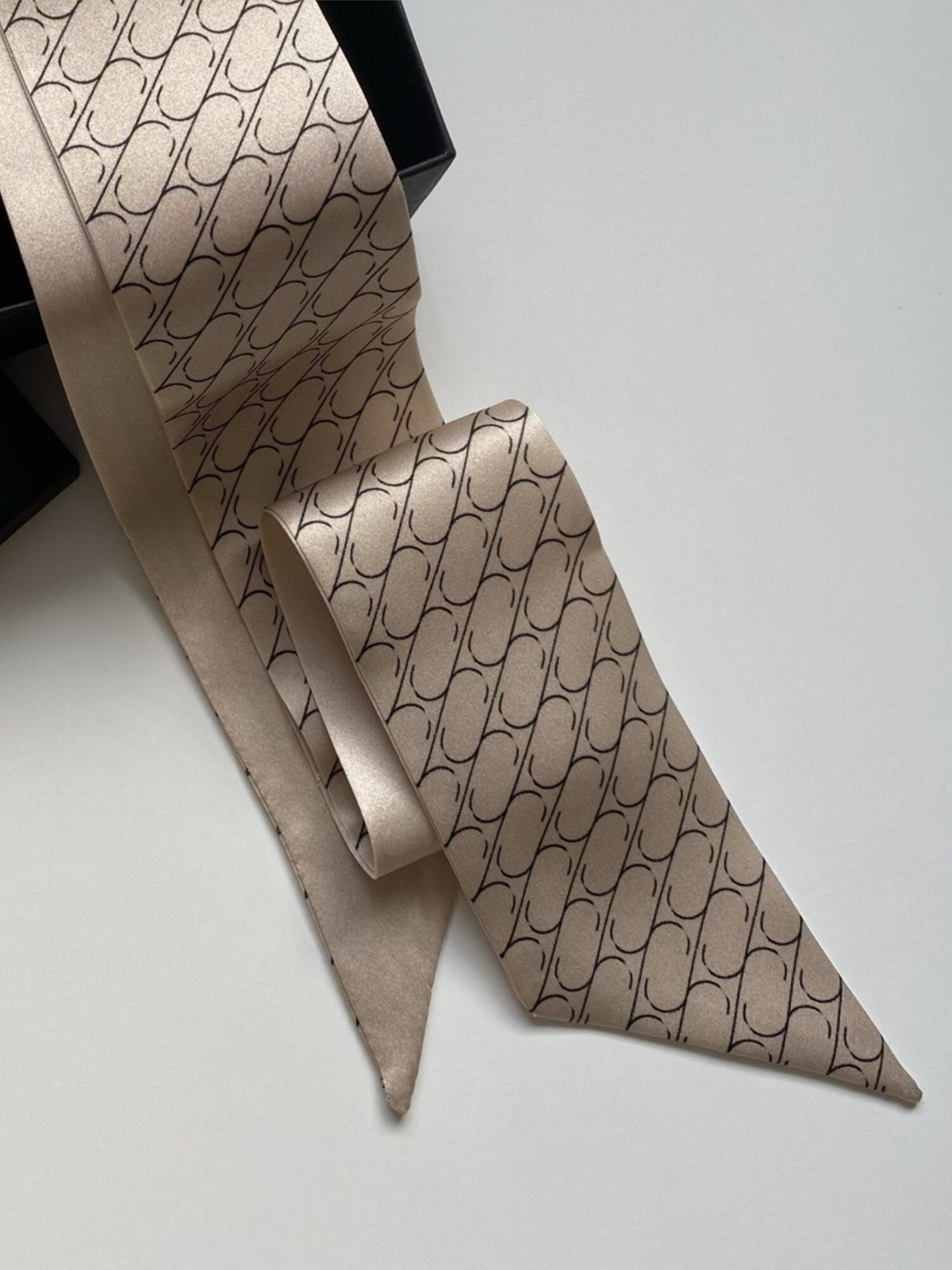 Jedwabny krawacik Sine Silk | CREAM - Sine Silk | JestemSlow.pl