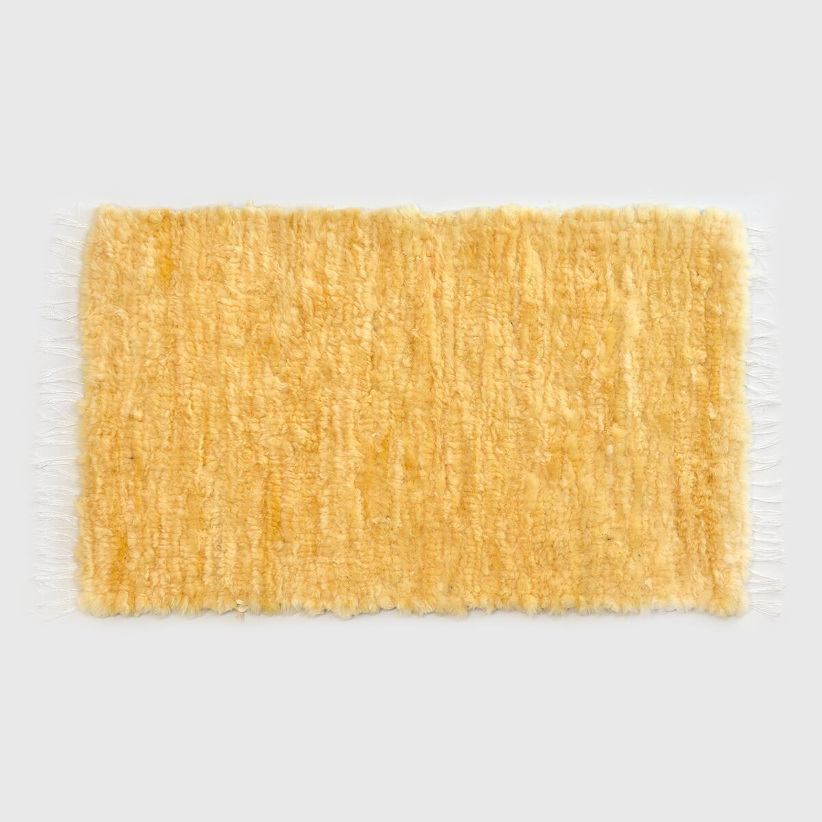 Tkany dywan ze skóry handmade - VANUBA   JestemSlow.pl