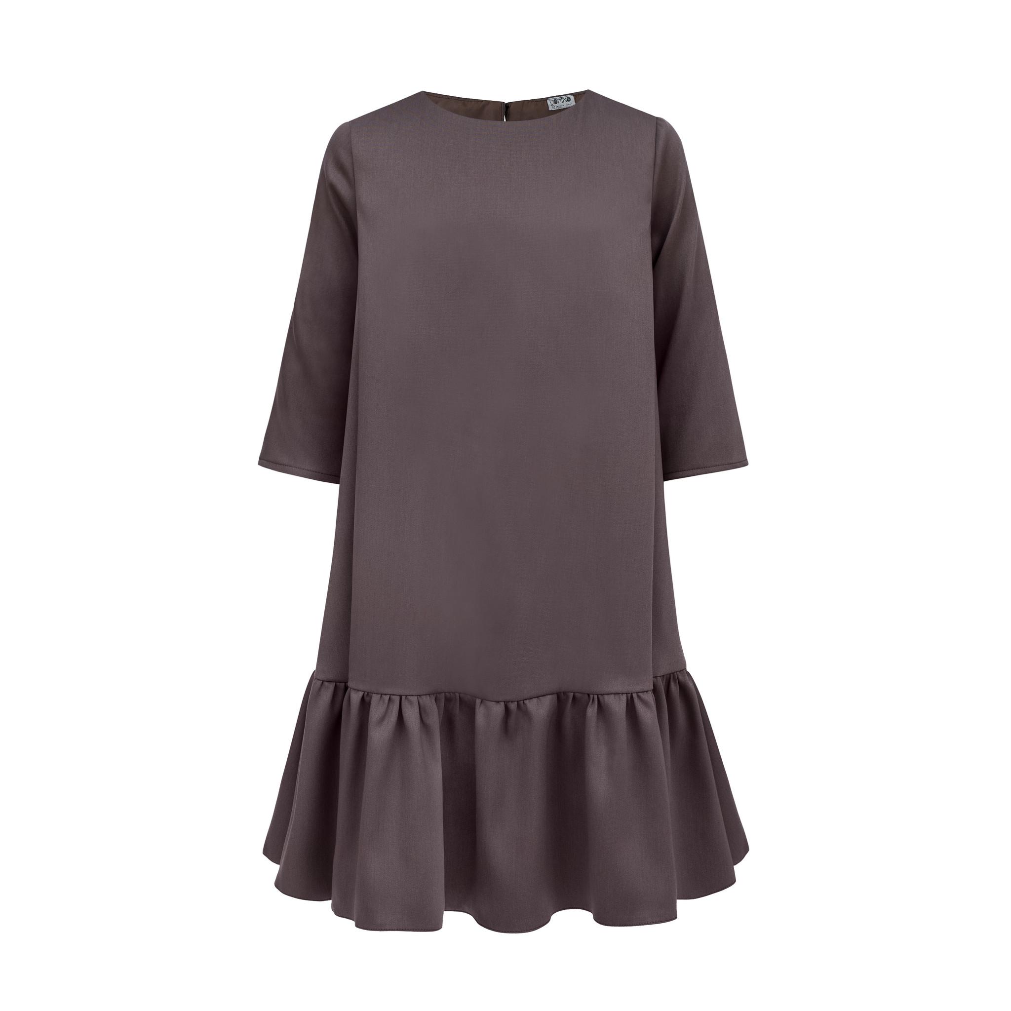 Sukienka w kolorze kakao - Domino.little.dress