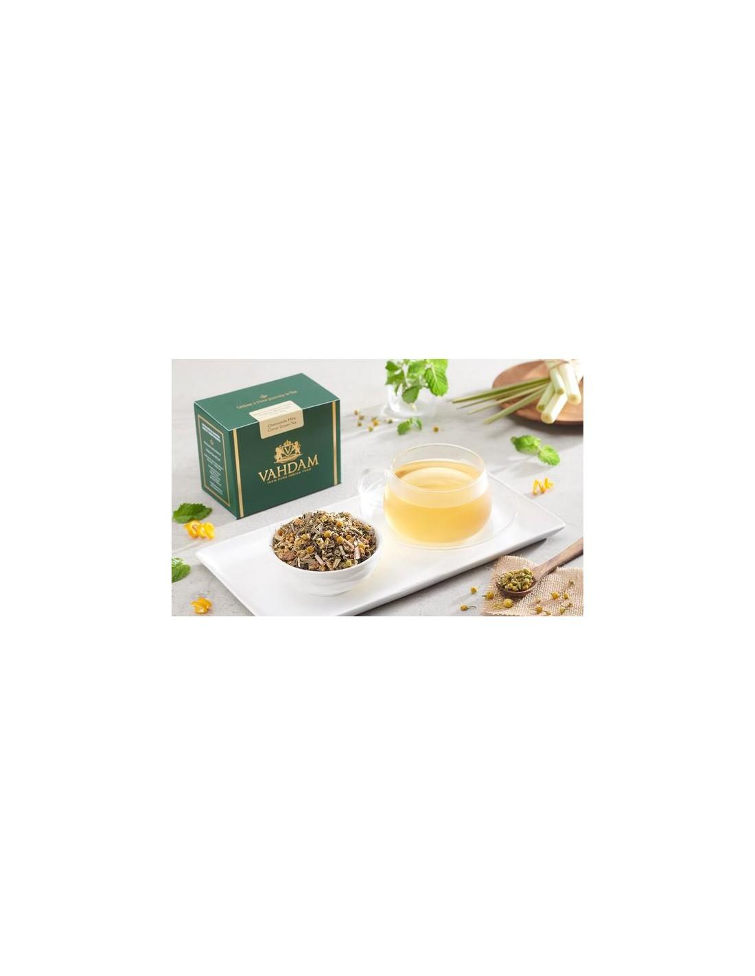 Chamomile Mint Citrus Green Tea - Republika Smaków Sp. z o.o.