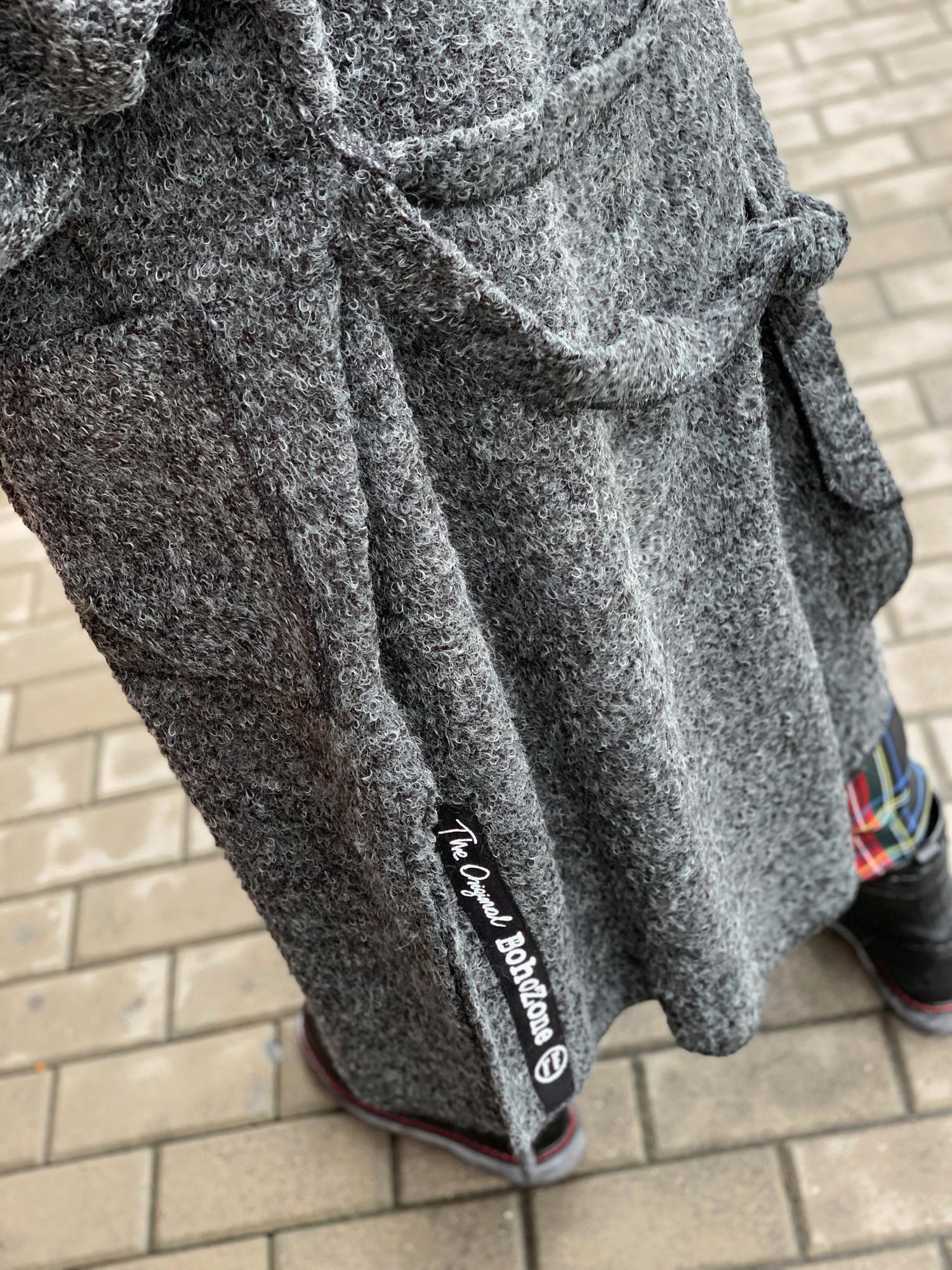 Swetrzysko Graphite Wool - BohoZone   JestemSlow.pl