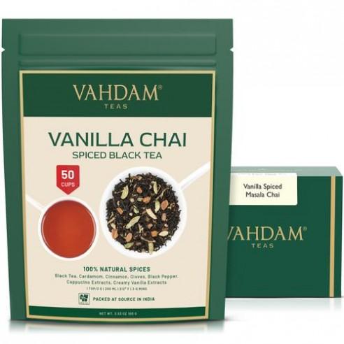 Vanilla Spiced Chai Tea - Republika Smaków   JestemSlow.pl