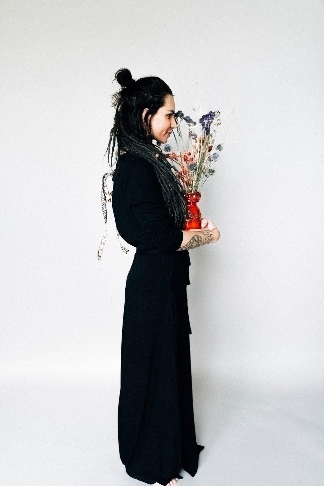 Sukienka z łezką - Agi Jensen Design | JestemSlow.pl