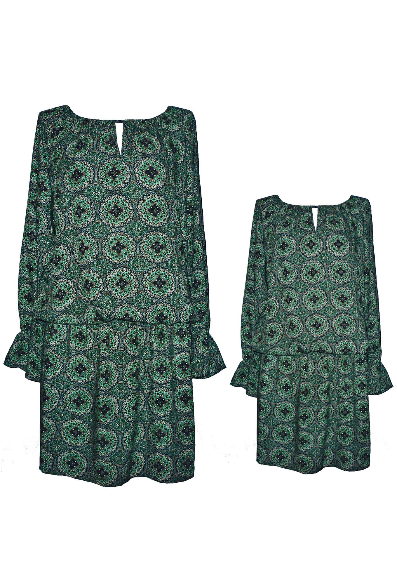 ZESTAW 2 Sukienki Boho Nova Green - The Same