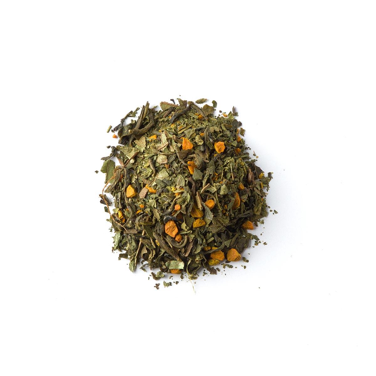 Ike. Blend zielonej herbaty z kurkumą i matchą - Brown House & Tea | JestemSlow.pl