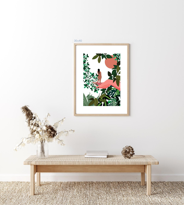 Kaśka - plakat Matka Ziemia - KABAK
