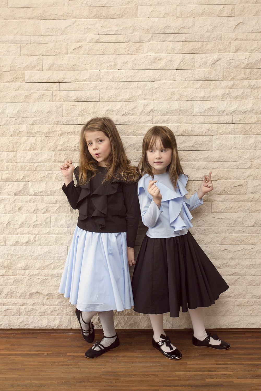 Spódniczka czarna - Domino.little.dress