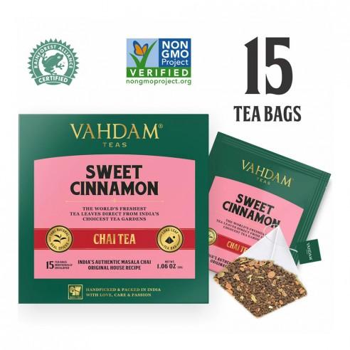 Sweet Cinnamon Chai Tea - Republika Smaków | JestemSlow.pl
