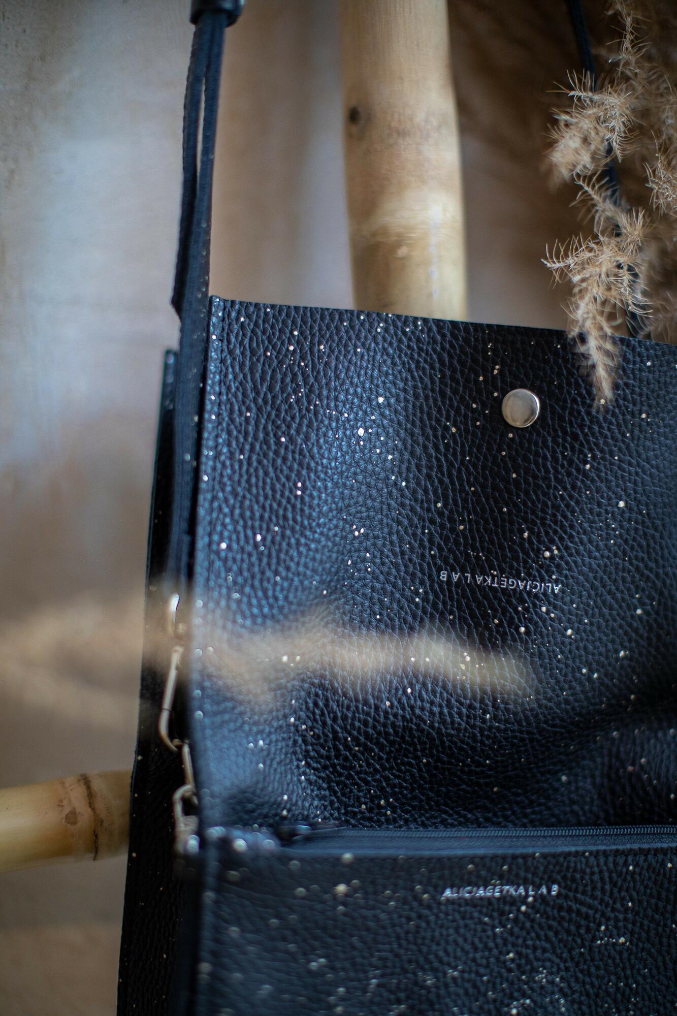 Torebka Boxy Bag S Night Sky - Alicja Getka lab   JestemSlow.pl