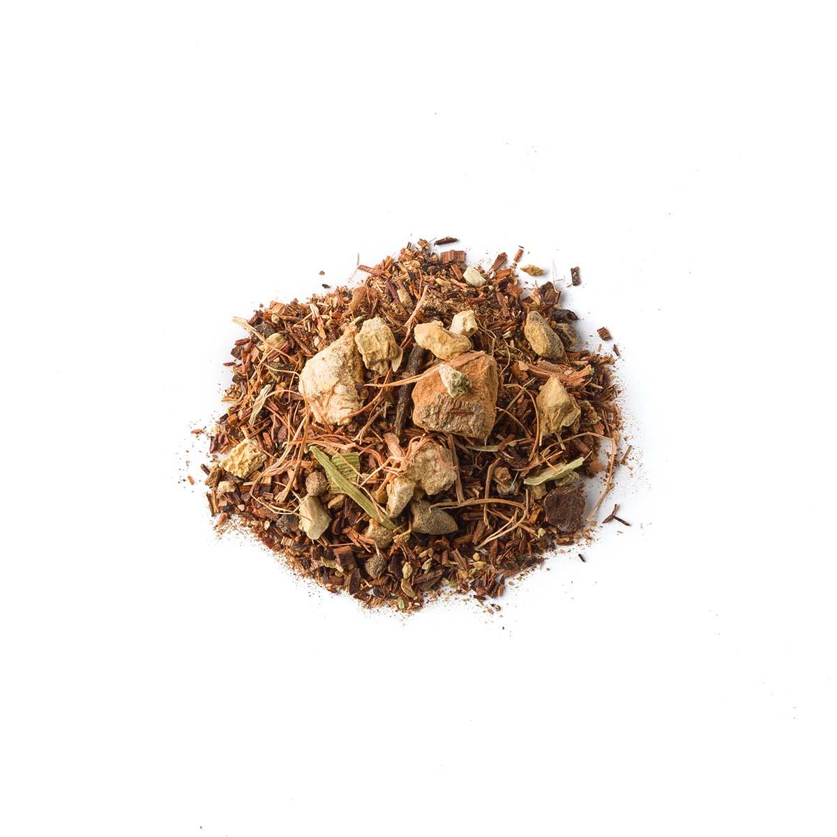 Cythna. Blend rooibosa z baobabem i przyprawami - Brown House & Tea   JestemSlow.pl