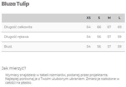 Bluza BLACK TULIP - LILY ZEAL | JestemSlow.pl