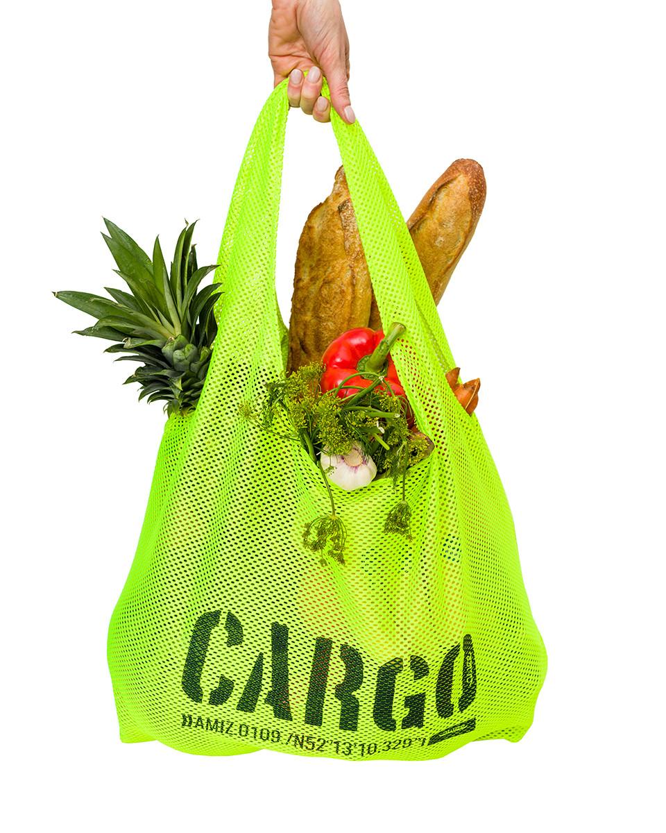 Torba Shopper Fluo Mesh - CARGO by OWEE | JestemSlow.pl