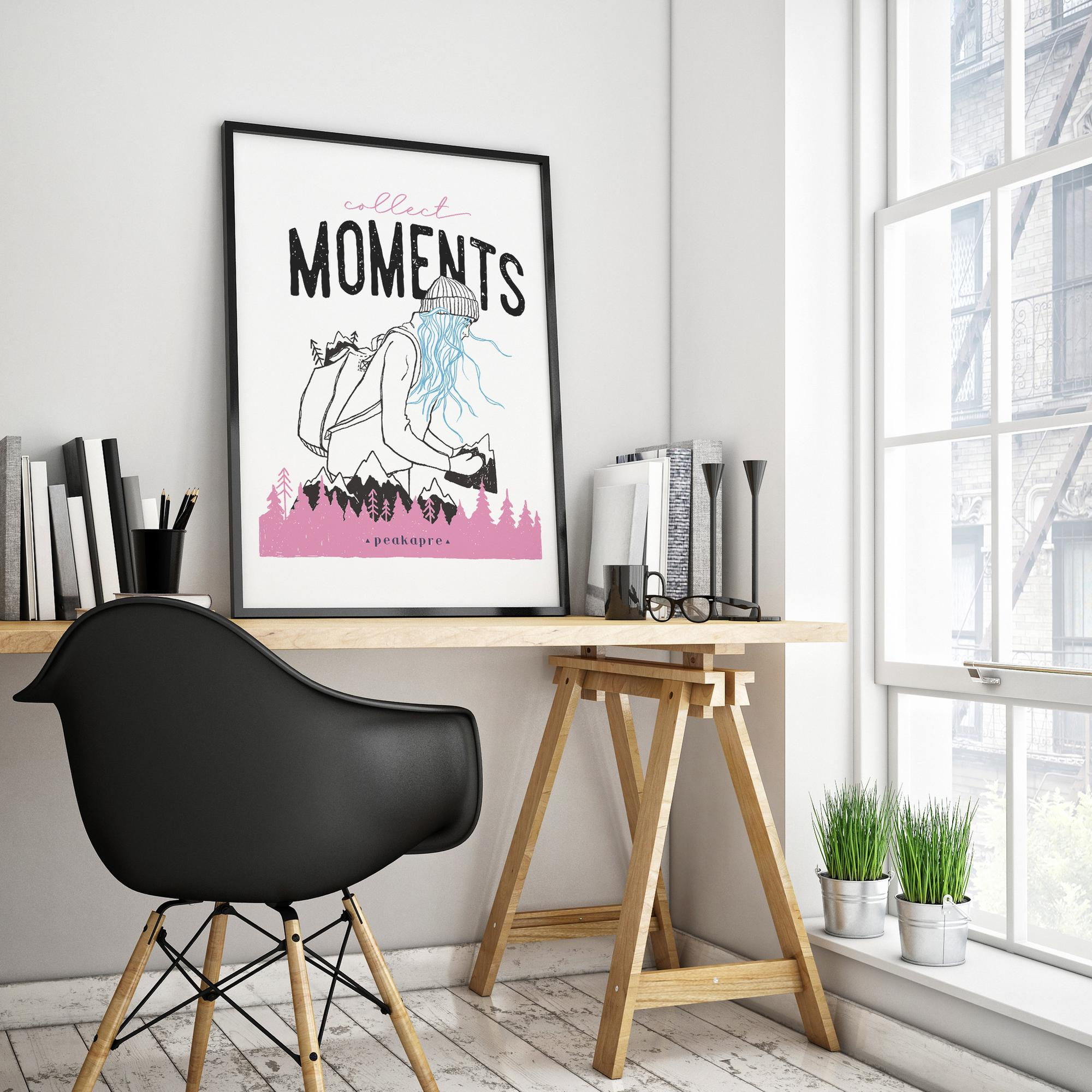 Plakat Collect Moments - not things
