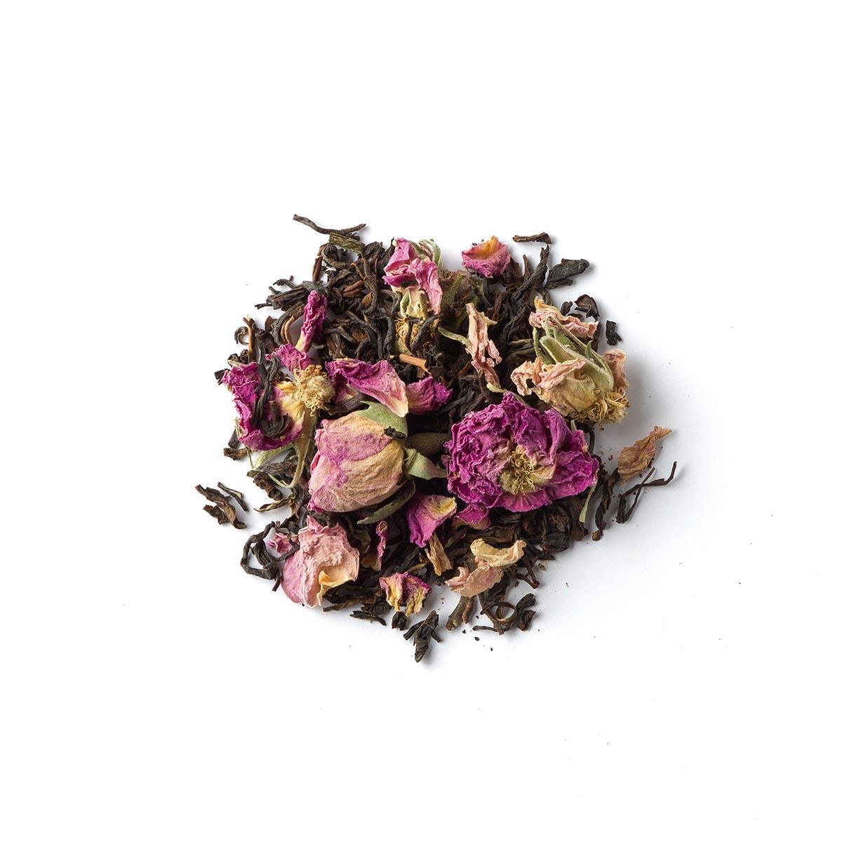 Rosalba. Blend czarnej herbaty z pąkami róży - Brown House & Tea   JestemSlow.pl