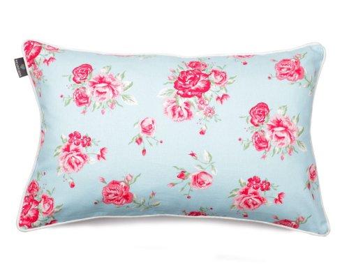 Poduszka dekoracyjna Roses Blue 40x60 cm - We Love Candles&We Love Beds   JestemSlow.pl