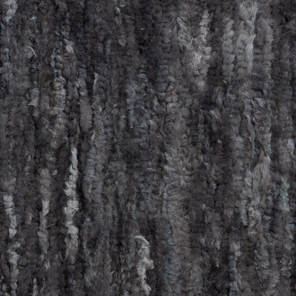 Tkany dywan ze skóry handmade - VANUBA | JestemSlow.pl