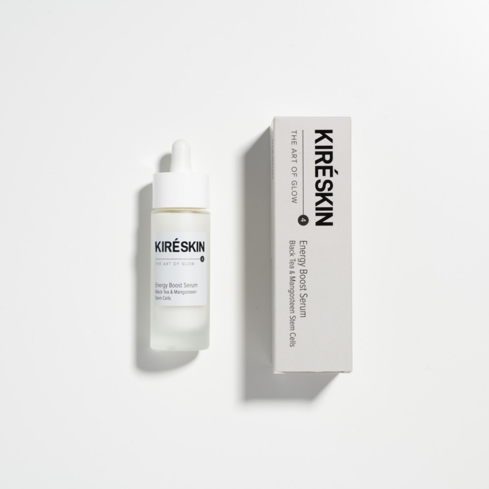 Energy Boost Serum Black Tea and Mangosteen Stem Cells - Kiré Skin | JestemSlow.pl