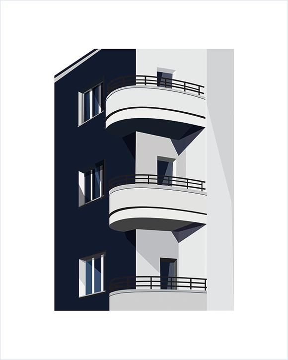 Kaśka - plakat Balkony - KABAK