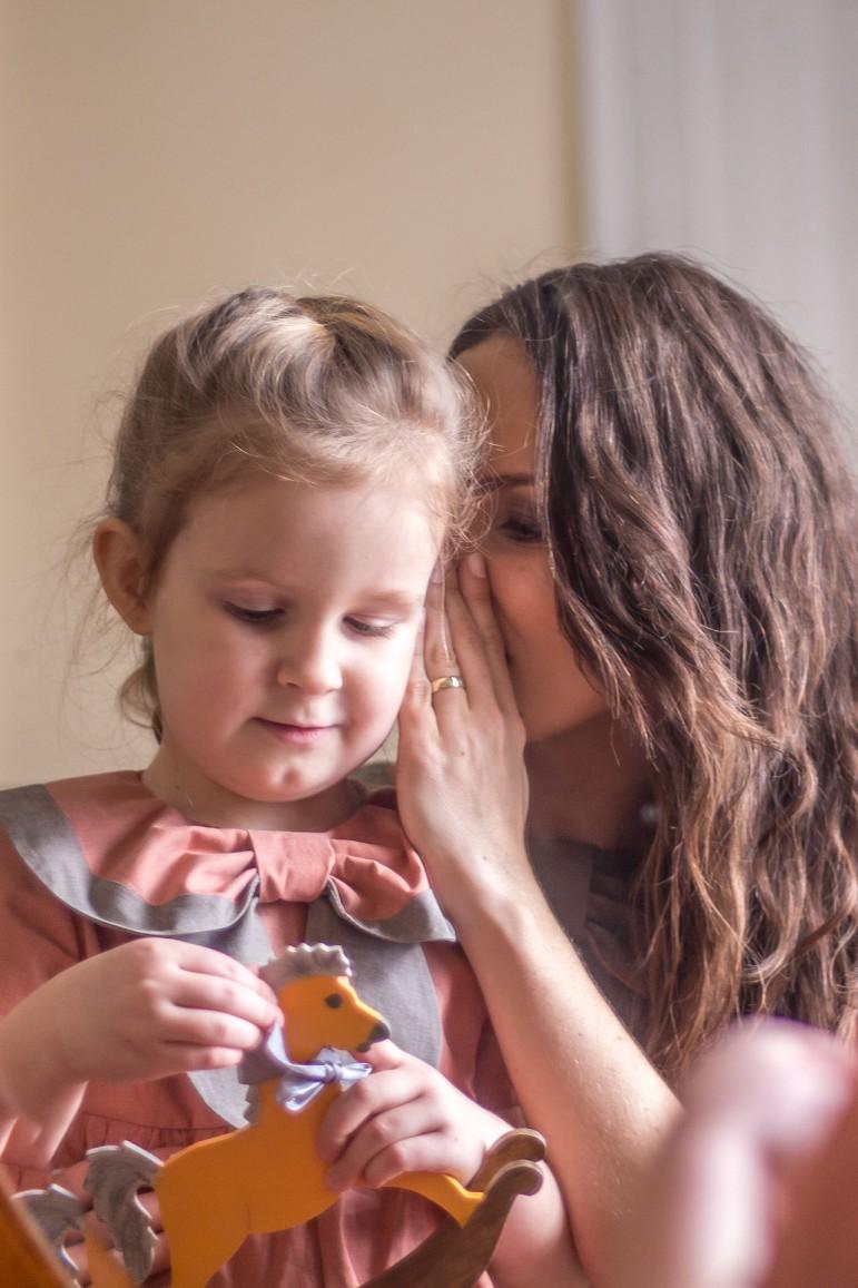 Komplet mama i córka Retro - Lovemade